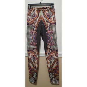 ISLE by Melis Kozan Women's Stretch Pants Geo